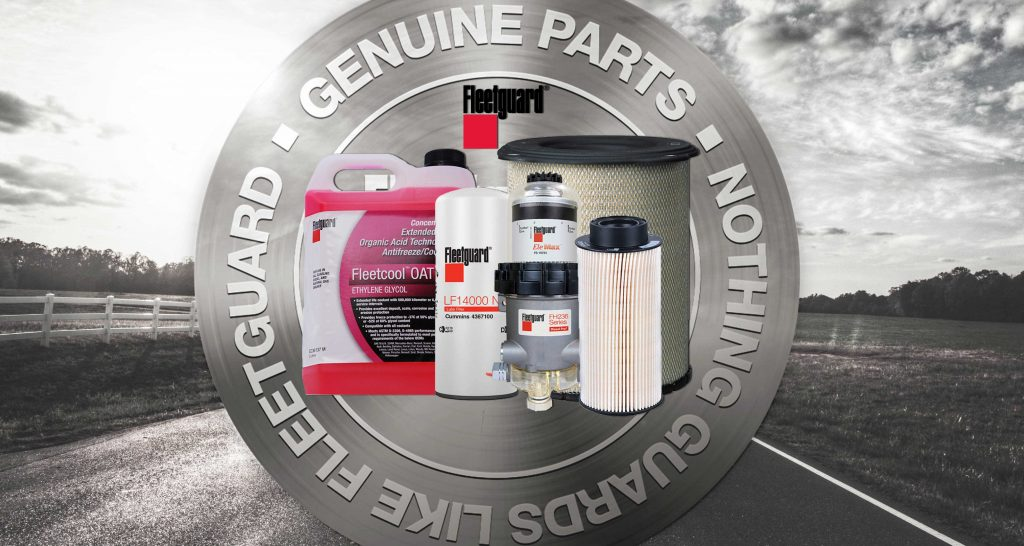 Fleetguard-filters-and-coolant
