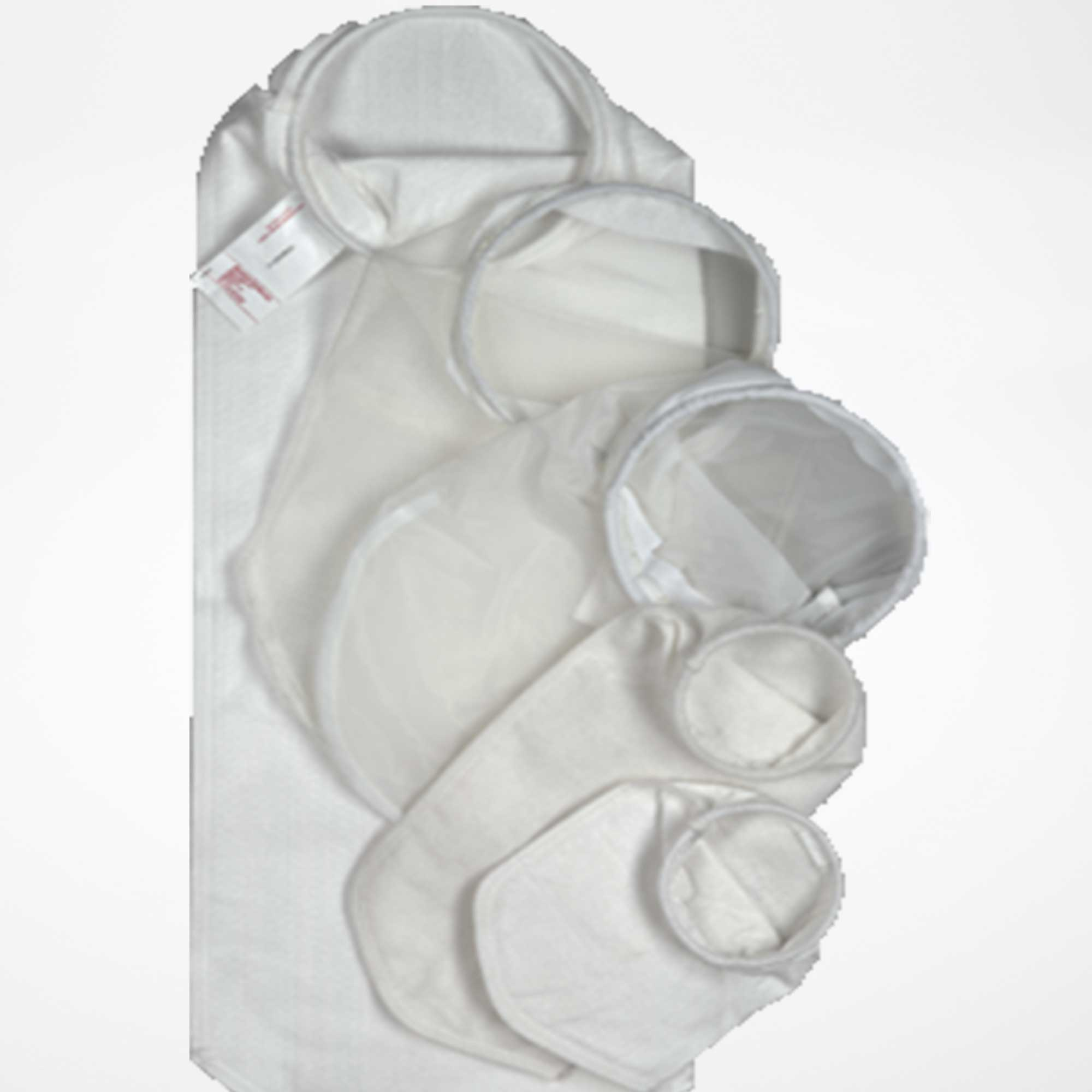 Group picture with filter bags for process filter housing