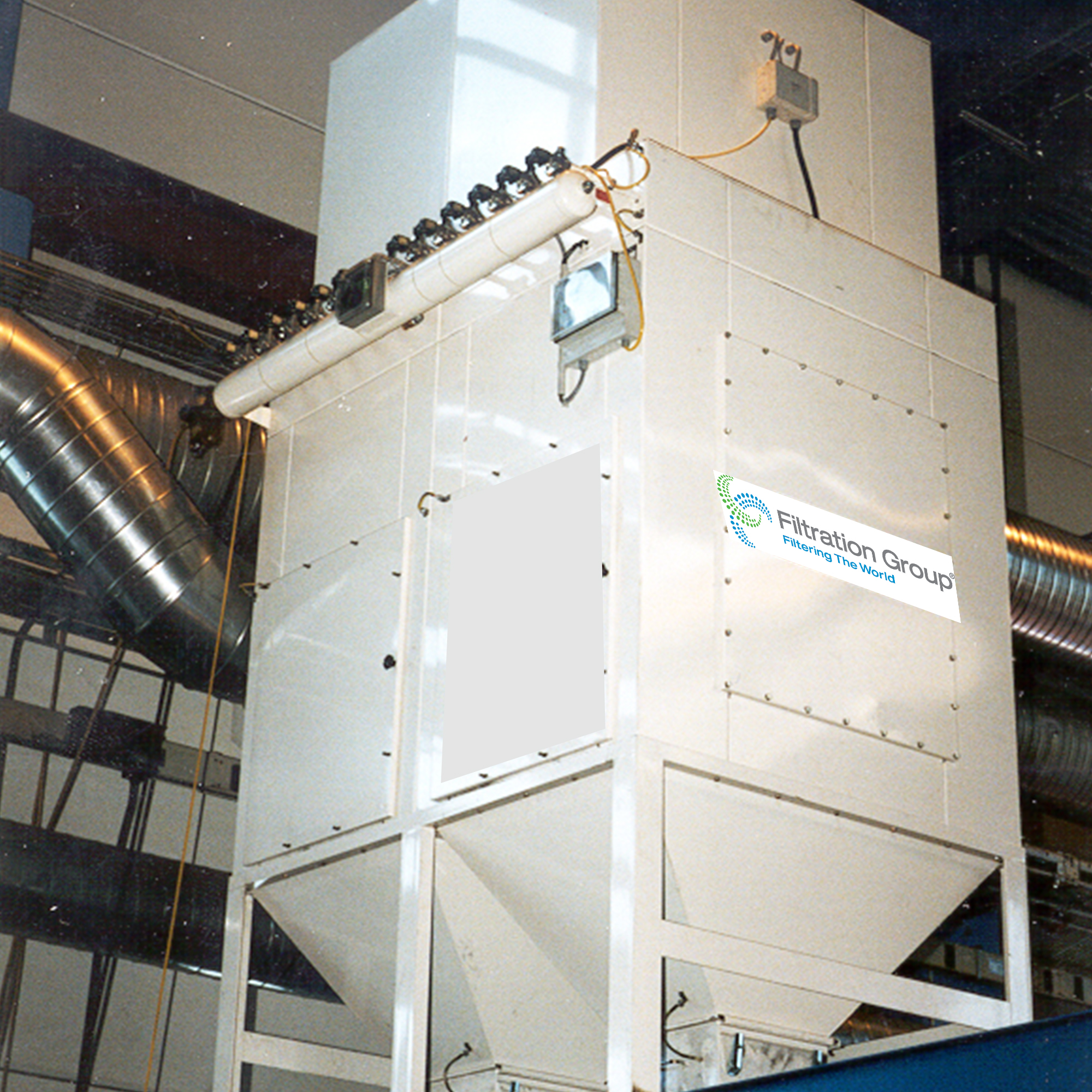FG dust collector filter system