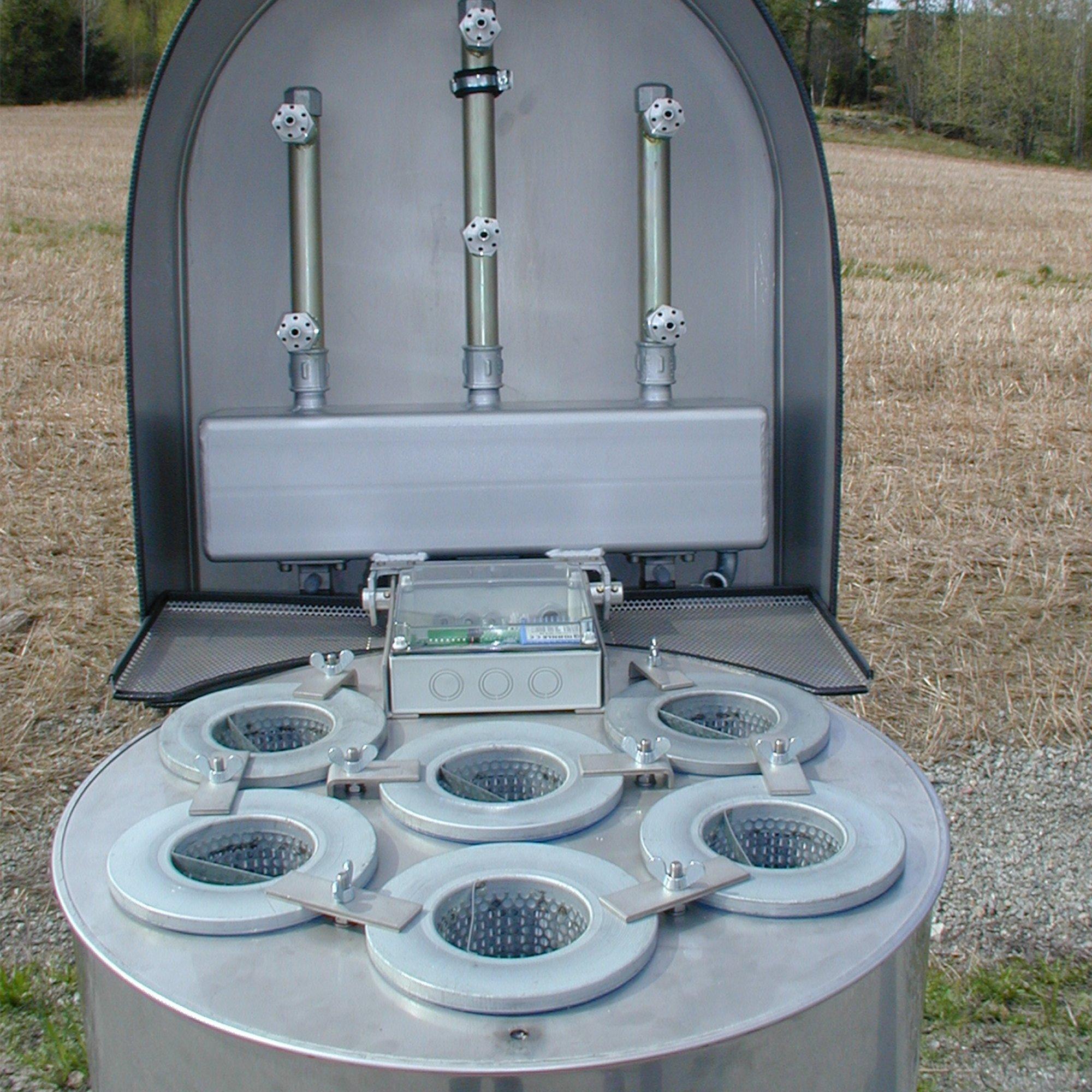 FG silo ventilation filter
